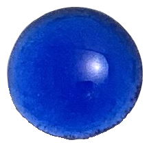 glossy cobalt color sample